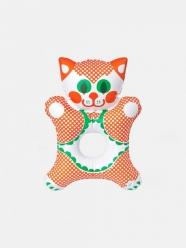 libuse niklova - jouet gonflable Kitty - Fatra - design tchèque