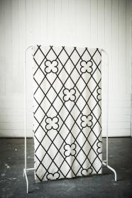 """Tissu """"Grids"""" 3 -  Falbanka - design polonais"""