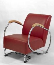 fauteuil fonctionnaliste en cuir K106