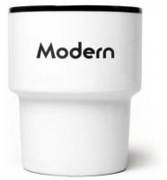 """mamsam - mug en porcelaine """"Modern""""  - graphisme polonais"""
