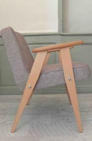 """fauteuil """"366"""" - Jozef Chierowski - 366 Concept - """"loft"""" GRIS CLAIR"""