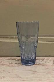 """Vase en verre des années 60 """"Onde"""""""