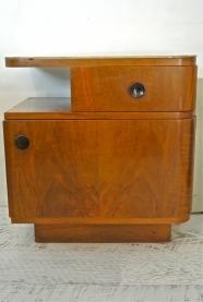"""Table de chevet tchèque de style Art Deco """"Mildred"""""""