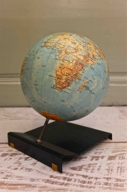 """Globe terrestre des années 70 """"Nový svět"""" II"""