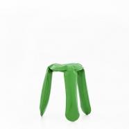Tabouret Plopp vert - design polonais - Zieta