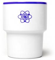 """mamsam - mug en porcelaine """"atome"""" - graphisme polonais"""