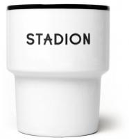 """mamsam - mug en porcelaine """"Stadion"""" / stade- graphisme polonais"""