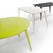 Tabanda - Table Maciek - design polonais (2 formes - 5 teintes disponibles - 2 dimensions)