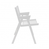 Chaise rex - blanc - design slovène - Rex Krajl