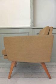 """fauteuil tchécoslovaque des années 60  """"mír"""""""