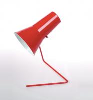 Lampe 21616 des années soixante - design tchèque (rouge)