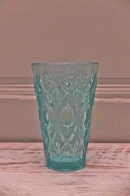 """Vase en verre  des années 60 """"Tourmaline"""""""