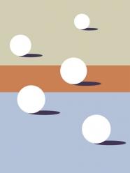 """lavmi - design tchèque - """" Sunny Beach"""" (plusieurs dimensions disponibles)"""