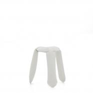 Tabouret Plopp blanc - design polonais - Zieta