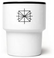 """mamsam - mug en porcelaine """"moonmadness"""" - graphisme polonais"""