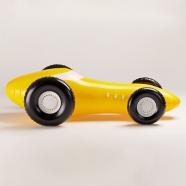 """design tchèque - Jan Čapek - jouet gonflable """"racing car"""" (noir) - Fatra"""