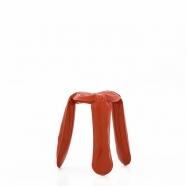 Tabouret Plopp rouge - design polonais - Zieta