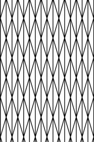 """Tissu """"Grids"""" 6 -  Falbanka - design polonais"""