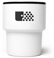 """mamsam - mug en porcelaine """"Smog"""" - design polonais"""