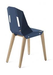 """tabanda - chaise """"Diago"""" bleu marine"""" - RAL 5001 - design polonais"""