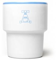 """mamsam - mug en porcelaine """"robot III"""" - graphisme polonais"""