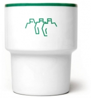 """mamsam mug """"Protection"""" /  graphisme polonais"""