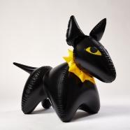 """design tchèque - Jan Čapek - jouet gonflable """"bulik"""" (noir) - Fatra"""