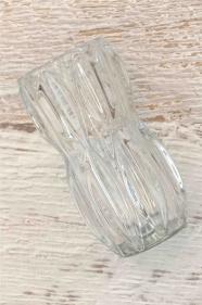 """Vase en verre de Bohême des années 60 """"Iceland"""""""