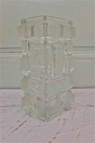 """Vase en verre des annés 60 """"Manhattan"""""""