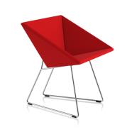 Fauteil RM57 - rouge uni