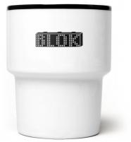 """mamsam - mug en porcelaine """" Blok"""" - graphisme polonais"""