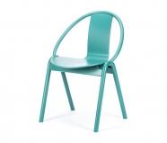 Chaise Again - Ton - turquoise