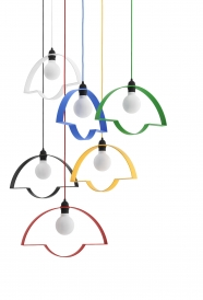 tabanda - design polonais - lampe NOWA STOŁOWA (6 couleurs : rouge - jaune - vert bois - bleu marine - blanc - noir )