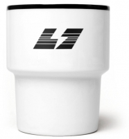 """mamsam - mug en porcelaine """"Burza"""" / tempête - graphisme  polonais"""