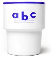 """mamsam - mug en porcelaine """"abc"""" - graphisme polonais"""