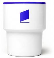 """mug en porcelaine  """"Okno"""" / fenêtre - mamsam - graphisme polonais"""
