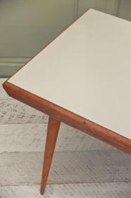 """table pieds compas """"Clair-obscur"""""""