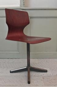 """Chaise pagholz de type industriel """"Atelier"""" (4 unités disponibles)"""