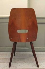 """Chaise en bois courbé des années 50 Tatra """"Fox"""" 1"""