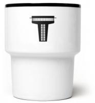 """mamsam - mug en porcelaine """"W-WA II"""" - graphisme polonais"""
