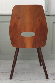 """Chaise Tatra en bois courbé  des années 50 """"Lokal"""""""