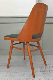 """Lot de 2 chaises TON des années 60 en bois courbé  """"Curba"""""""