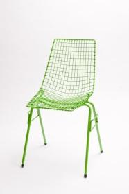 design polonais - chaise Henryk Sztaba - vert - Mamsam