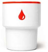 """mamsam - mug en porcelaine """"goutte"""" - graphisme polonais"""