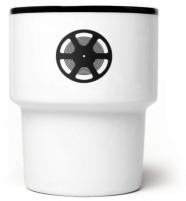 """mug en porcelaine """"film"""" - mamsam - graphisme polonais"""