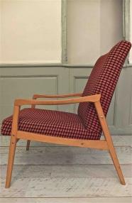 """Lot de 2 fauteuils tchécoslovaques de style mid-century """"Mad"""""""