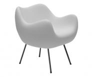 design polonais - roman modzelewski - fauteuil RM58 mat - blanc - vzor