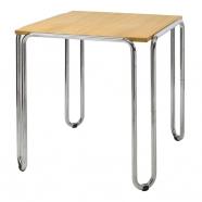 table fonctionnaliste chromée ST10 - Slezakovy Zavody - design tchèque