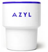 """mamsam mug """"Azyl"""" - asile /  graphisme polonais"""