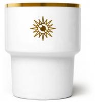 """mamsam - mug en porcelaine """"Soleil""""  - graphisme polonais"""